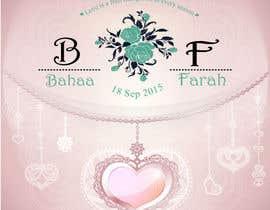 yamzdesignz tarafından Design a Logo for Wedding Card/FB event (2 Names logo) için no 16