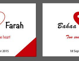 #15 untuk Design a Logo for Wedding Card/FB event (2 Names logo) oleh fb55be0f17e23e8