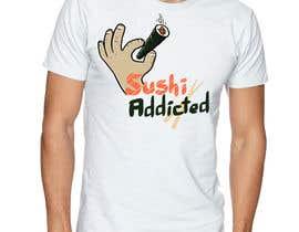#21 untuk Sushi Design for T-Shirt oleh ElZorg