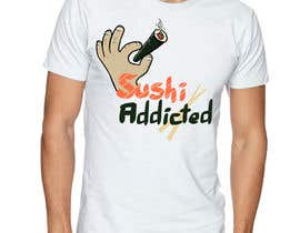 #30 untuk Sushi Design for T-Shirt oleh ElZorg
