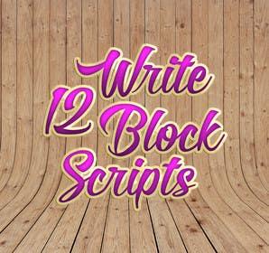 #21 untuk Write12BlockScripts oleh mariusadrianrusu