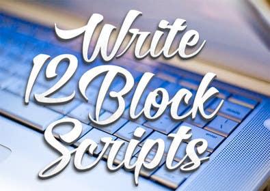 #36 untuk Write12BlockScripts oleh mariusadrianrusu