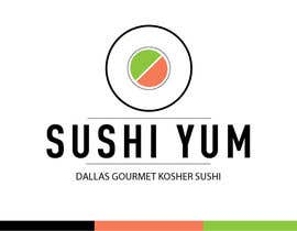#20 untuk Design a Logo/Sticker and Menu/Flyer for Sushi Yum oleh Jgarisch12
