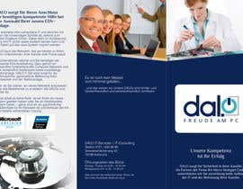 #4 para CREATIVE DESIGN of brochure for DALO por barinix