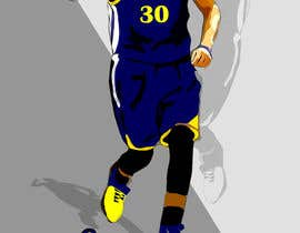 #10 untuk Cartoon Vector Steph Curry oleh melhosary86