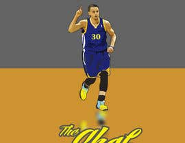 #9 untuk Cartoon Vector Steph Curry oleh AndrewFartushok