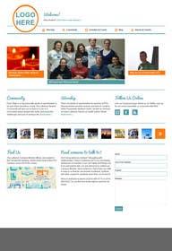 #10 untuk Design a Website Mockup for MeetUniv.Com oleh Nihadricci