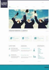 #11 untuk Design a Website Mockup for MeetUniv.Com oleh Nihadricci