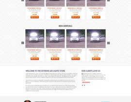 nikil02an tarafından Design a Website Mockup forhttp://extremeledlightz.ca/ için no 12