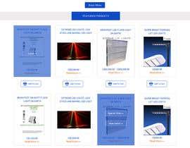#11 untuk Design a Website Mockup forhttp://extremeledlightz.ca/ oleh ravinderss2014