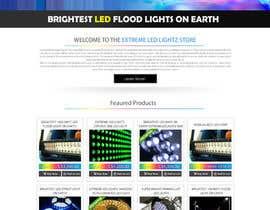 #9 untuk Design a Website Mockup forhttp://extremeledlightz.ca/ oleh chancalkmr