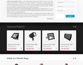 #7 untuk Design a Website Mockup forhttp://extremeledlightz.ca/ oleh Hardiq108