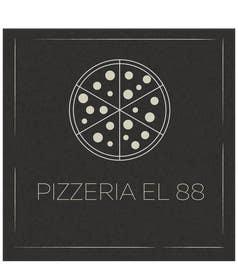 #86 untuk Design a Logo for Pizzeria El 88 oleh ChasingWhimsy