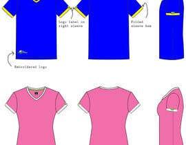 #16 untuk Range of shirts for male and female oleh Kirstinemhansen