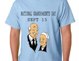 #13 untuk Design a T-Shirt for Grandparent's Day (September 13) oleh rjayasuriya