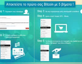 tomerep tarafından Inspirational infographics picture to be used as a landing page for bitcoinsgreece.com için no 7