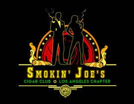 #7 untuk Design a Logo for Smokin' Joe's Cigar Club Los Angeles Chapter. oleh KilaiRivera