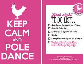 vyncadq tarafından Promotional postcard - Pole Dance Studio için no 1