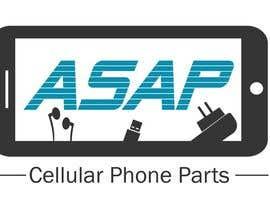 KnowledgeShine tarafından Design a Logo for ASAP Cellular Phone Parts için no 4