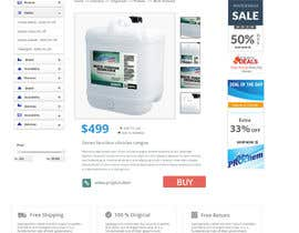 mahiweb123 tarafından Design a Website Mockup for Cleaning Chemical Brand için no 16