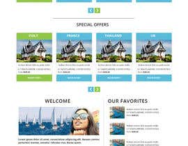 #23 untuk Design Website for Travel Agency oleh RahidSaiyad