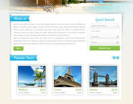 Hardiq108 tarafından Design Website for Travel Agency için no 16
