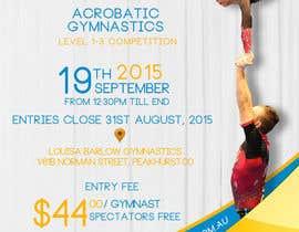 #17 untuk Design a Flyer for An Acrobatic Gymnastics Invitational Competition oleh adidoank123