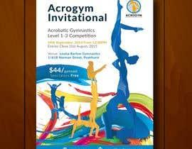#18 untuk Design a Flyer for An Acrobatic Gymnastics Invitational Competition oleh leandeganos