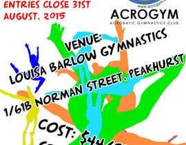 #20 untuk Design a Flyer for An Acrobatic Gymnastics Invitational Competition oleh lysenkozoe