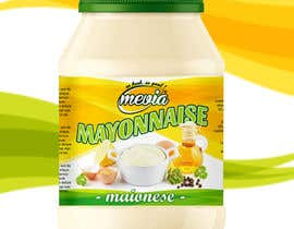 #21 for Design a label for Mayonnaise in jars by mirceawork