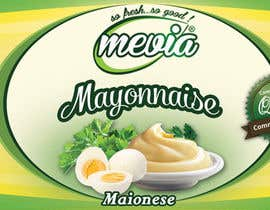 #30 for Design a label for Mayonnaise in jars by damirruff86