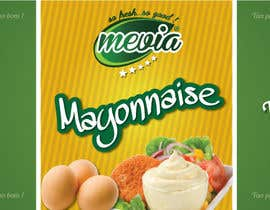 #15 for Design a label for Mayonnaise in jars by elixirman