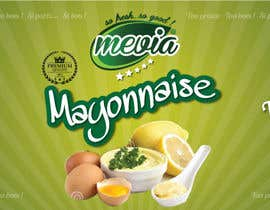 #26 for Design a label for Mayonnaise in jars by elixirman