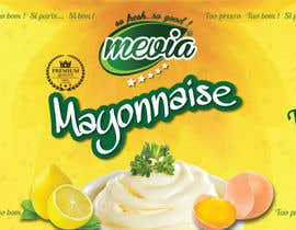 #32 for Design a label for Mayonnaise in jars by elixirman