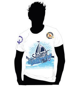 israel8542 tarafından T-Shirt Design for a Sailing Club için no 38