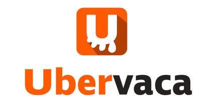 #1 untuk Projetar um Logo for Ubervaca oleh albertosemprun
