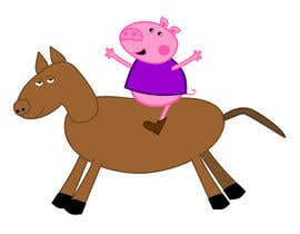 #13 untuk I want a cartoon similar to Peppa Pig(not the same, i dont want to infringe copyright) on a Hourse oleh viango