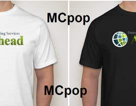 mcpop tarafından Design a T-Shirt for For our Company with Logo as your choice. için no 80