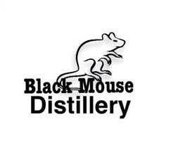 #14 untuk Design a Logo for Black Mouse Distillery oleh chaugiang01686