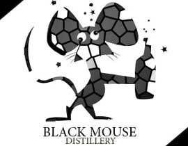 #52 untuk Design a Logo for Black Mouse Distillery oleh tmwstw