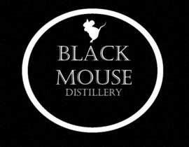 #42 untuk Design a Logo for Black Mouse Distillery oleh andjelkons