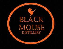 #44 untuk Design a Logo for Black Mouse Distillery oleh andjelkons