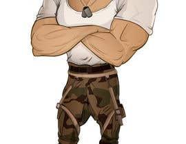 #21 untuk Create a muscular Military character/mascot. oleh missjosy