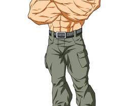 #12 untuk Create a muscular Military character/mascot. oleh egrencio