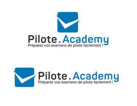 #26 untuk Concevez un logo pour un site d'examens en ligne de pilotes d'avion oleh boutalbisofiane