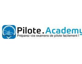 #36 untuk Concevez un logo pour un site d'examens en ligne de pilotes d'avion oleh boutalbisofiane