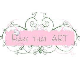 #19 untuk New logo for Bake That Art facebook homepage oleh ninaekv