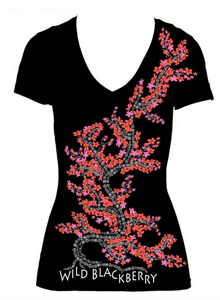 Kilpailutyö #                                        14                                      kilpailussa                                         Artistic Shirt Design