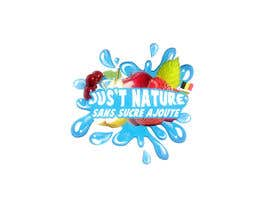 "OCCITAN tarafından Design a logo for our fruit juice brand: ""Nature Jus't"" için no 125"