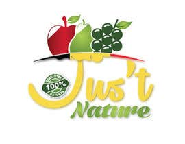 "sousspub tarafından Design a logo for our fruit juice brand: ""Nature Jus't"" için no 88"
